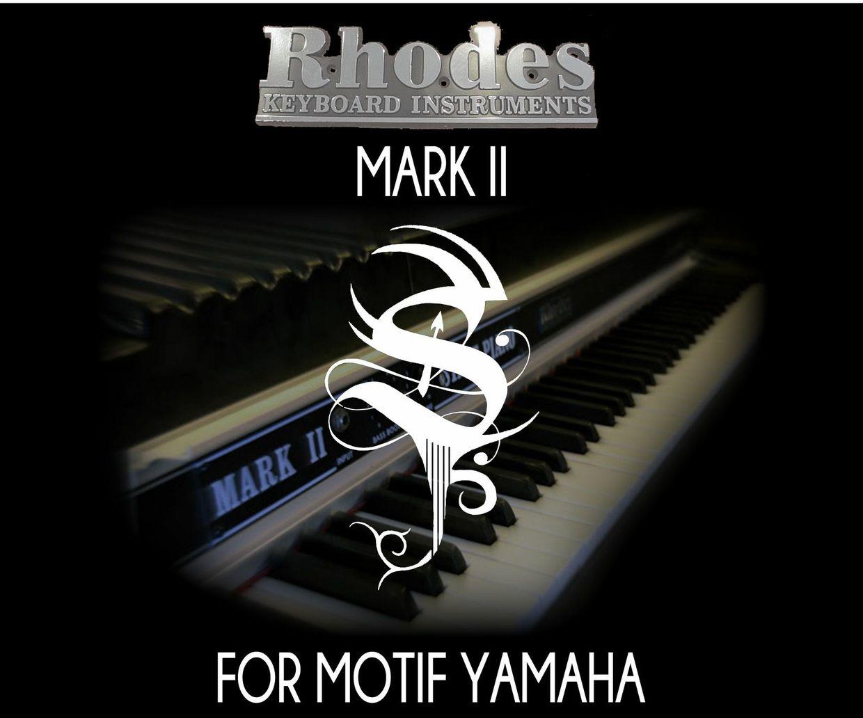 Rhodes Mark II For Motif ES
