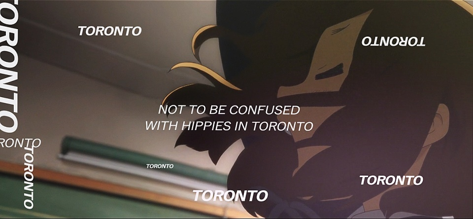 HIPPIES IN TORONTO// Project File + Resources