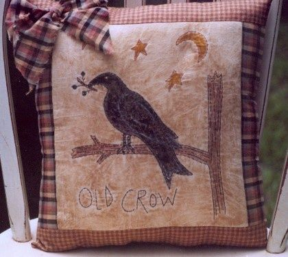 #369 Old Crow E Pattern