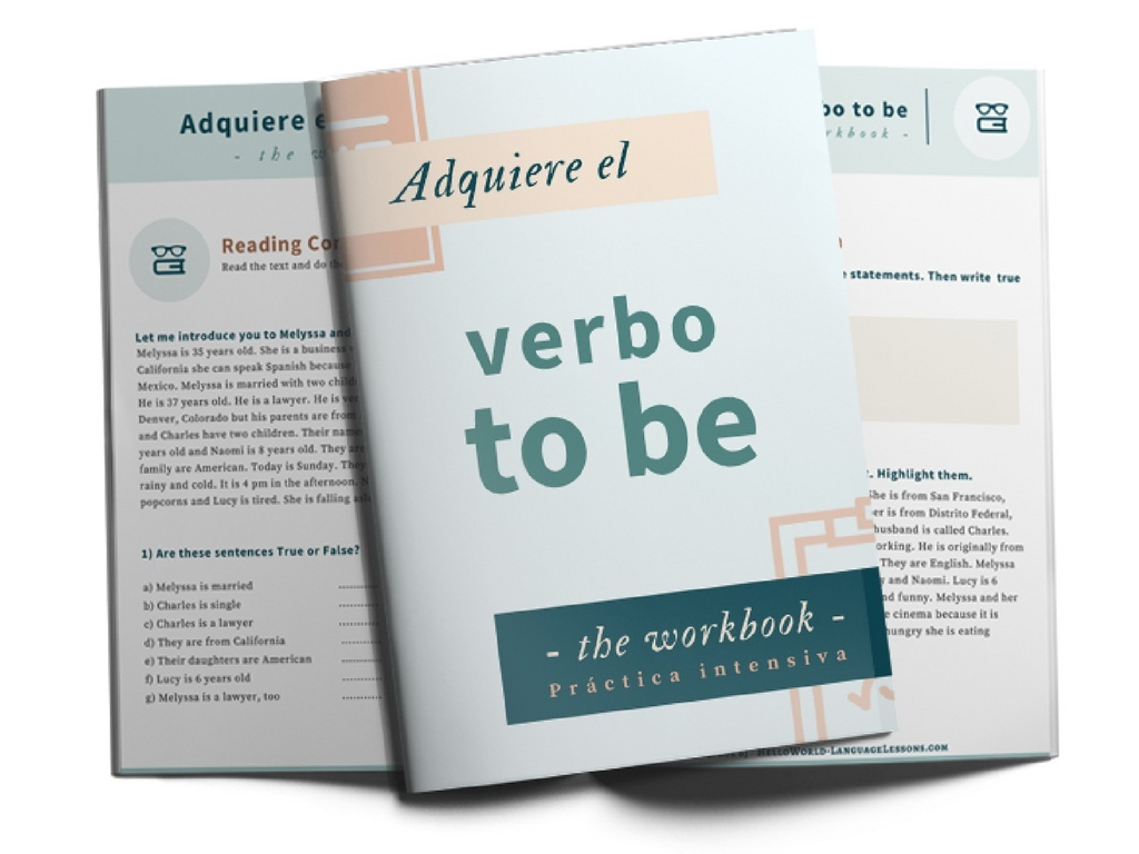 Adquiere el VERBO to BE