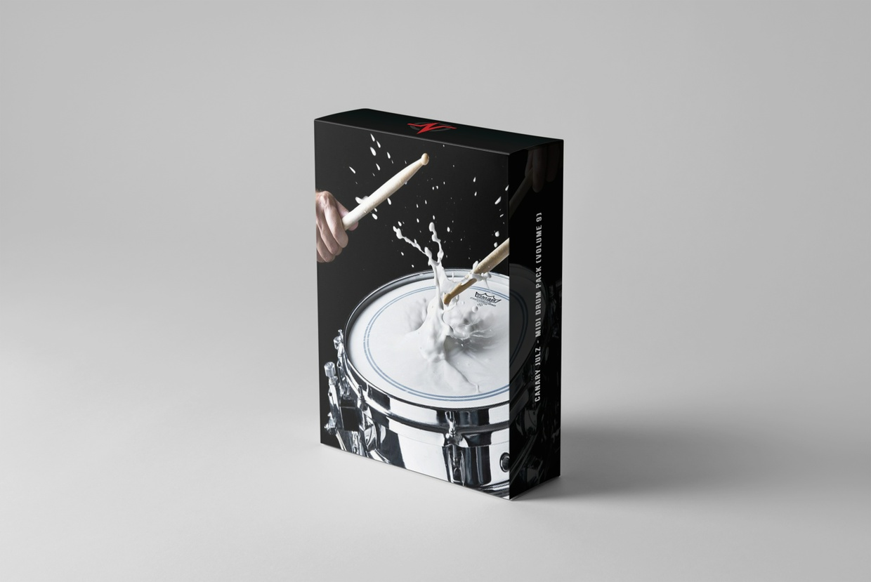 CJ's MIDI Drum Pack : Volume 9 (Instant Digital Download)
