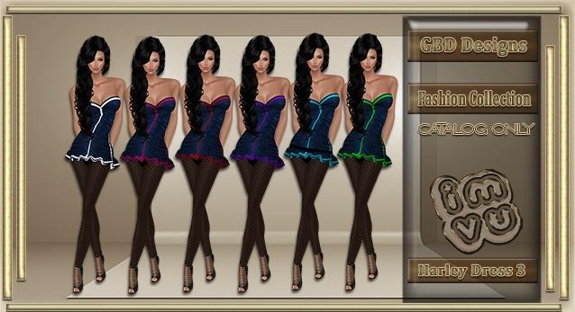 Harley Dress 3 CATALOG ONLY!!