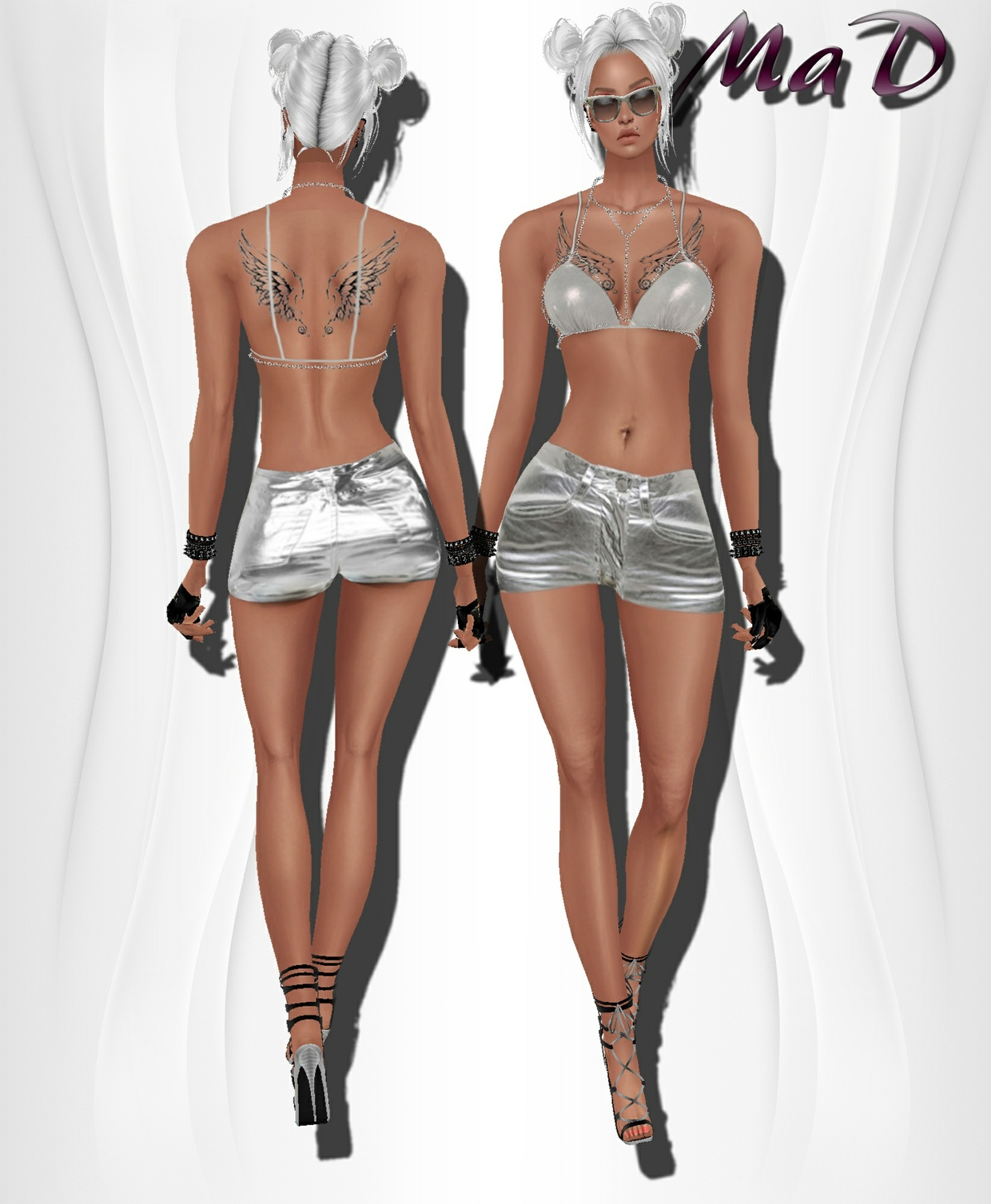 MaD Silver Set ONLY CATTY