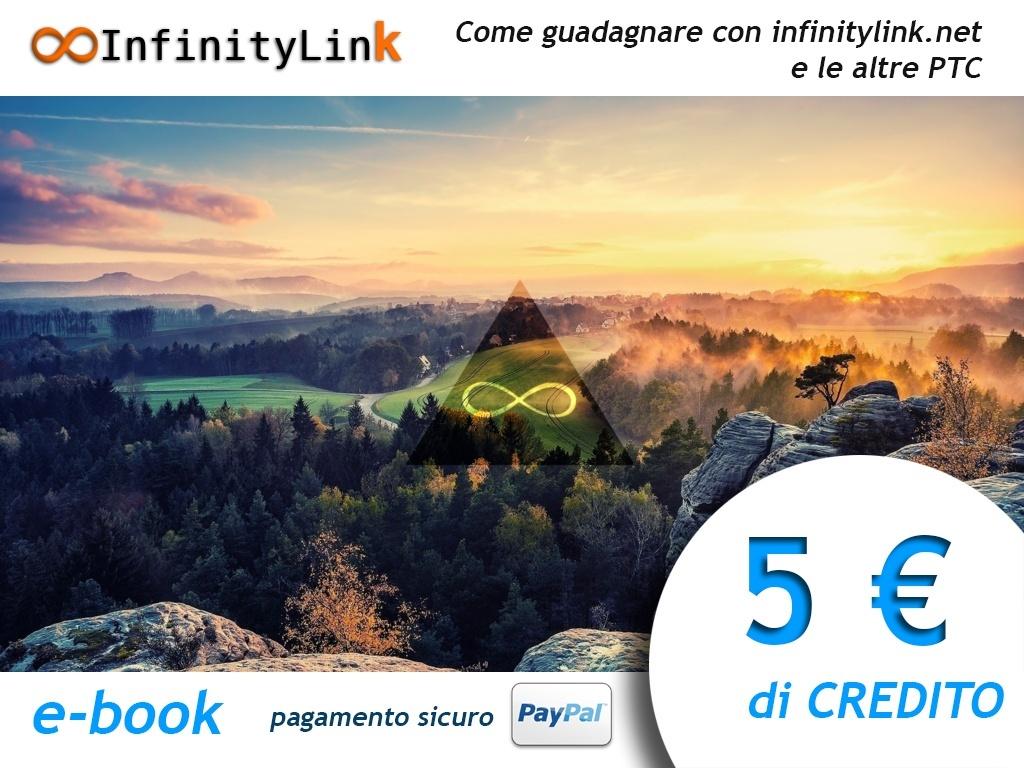 InfinityLink.Net - 5 € di credito + e-book