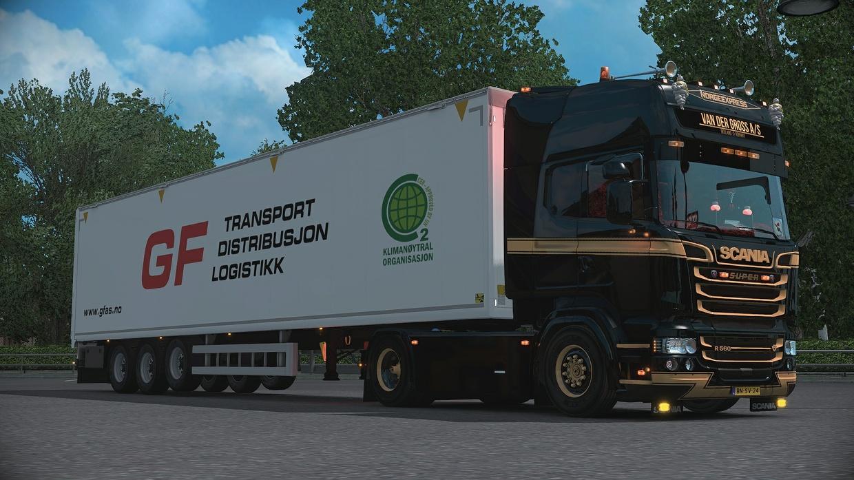 Scania RJL sideblinker slots (READ DESCRIPTION!!)