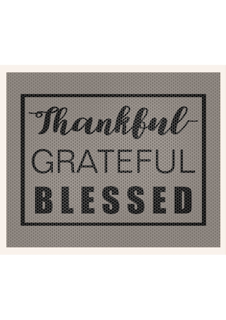 Thankful Grateful Blessed SVG