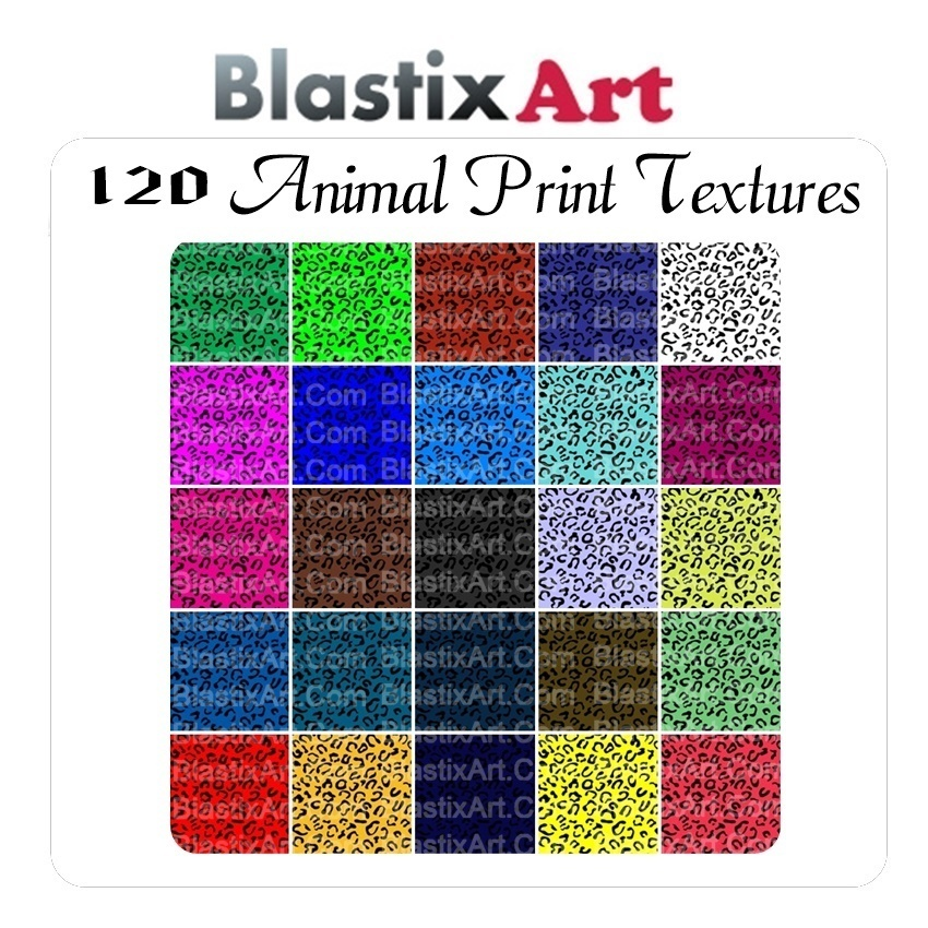 120 Animal Print Textures