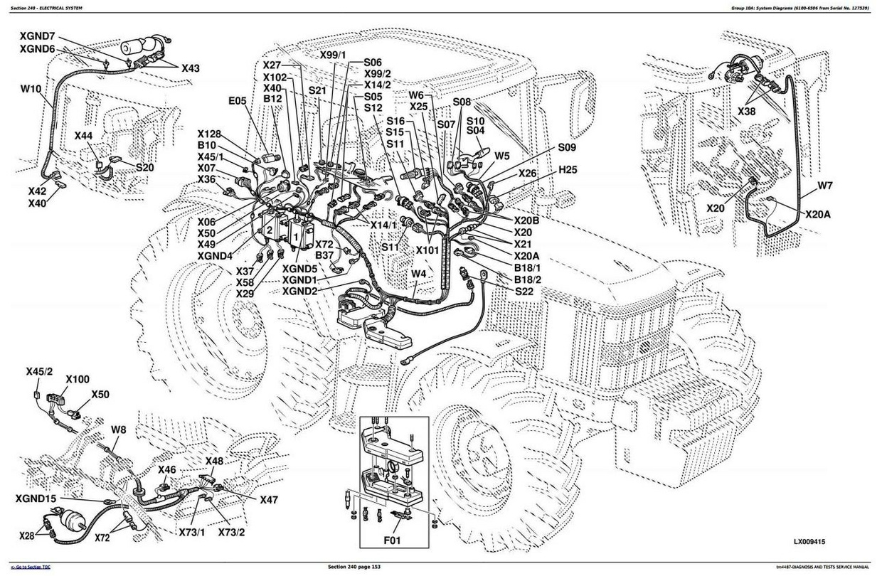 John Deere 6200 Fuse Box Diagram Free Download Wiring 4500 6100 6300 6400 6506 6600 6800