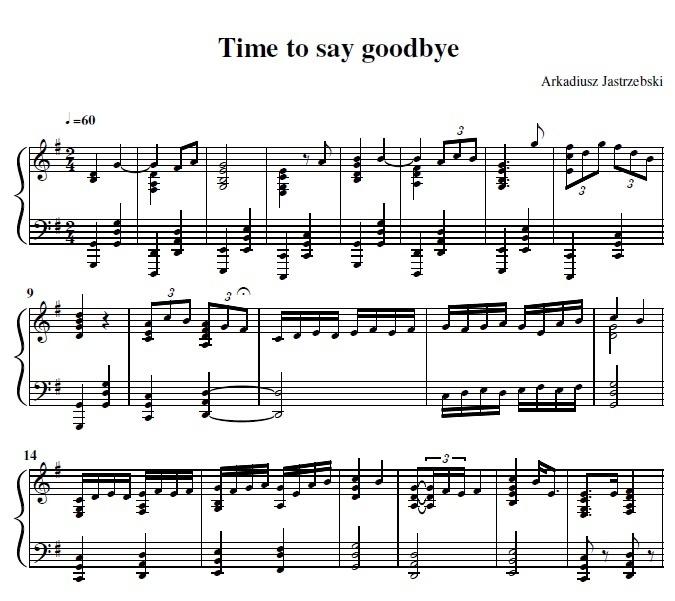 "Andrea Bocelli - Time to say goodbye ""Con Te Partiro"""