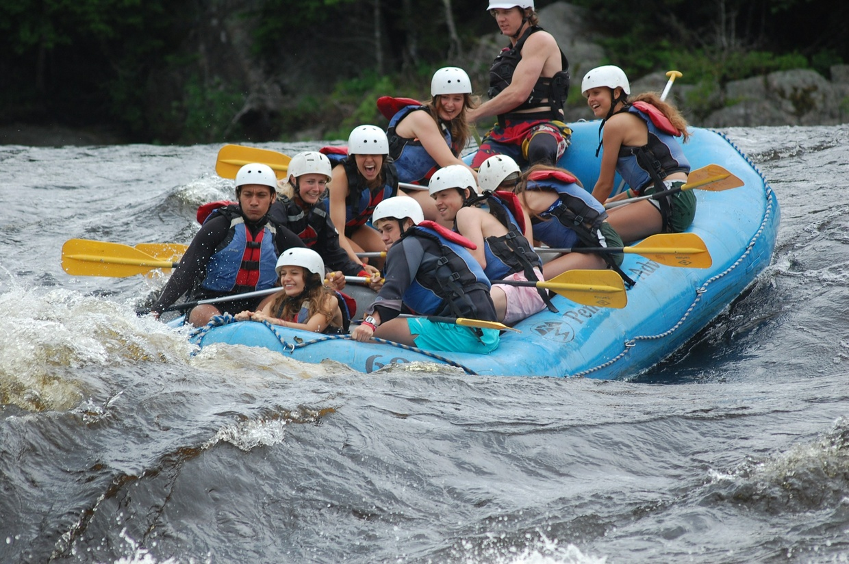 Penobscot Rafting Video 07/18/2017