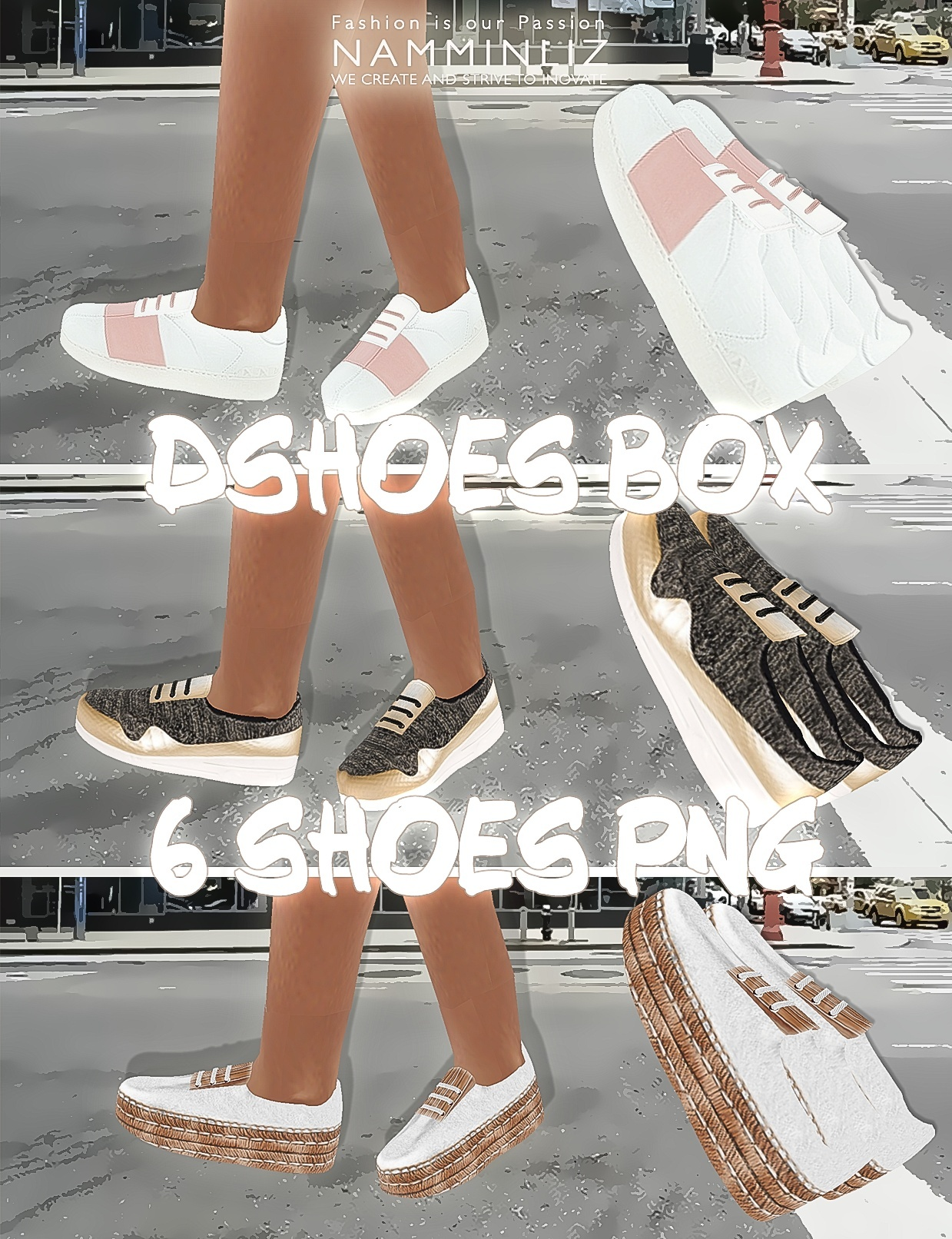 DshoesBox imvu 6 shoes PNG CHKN