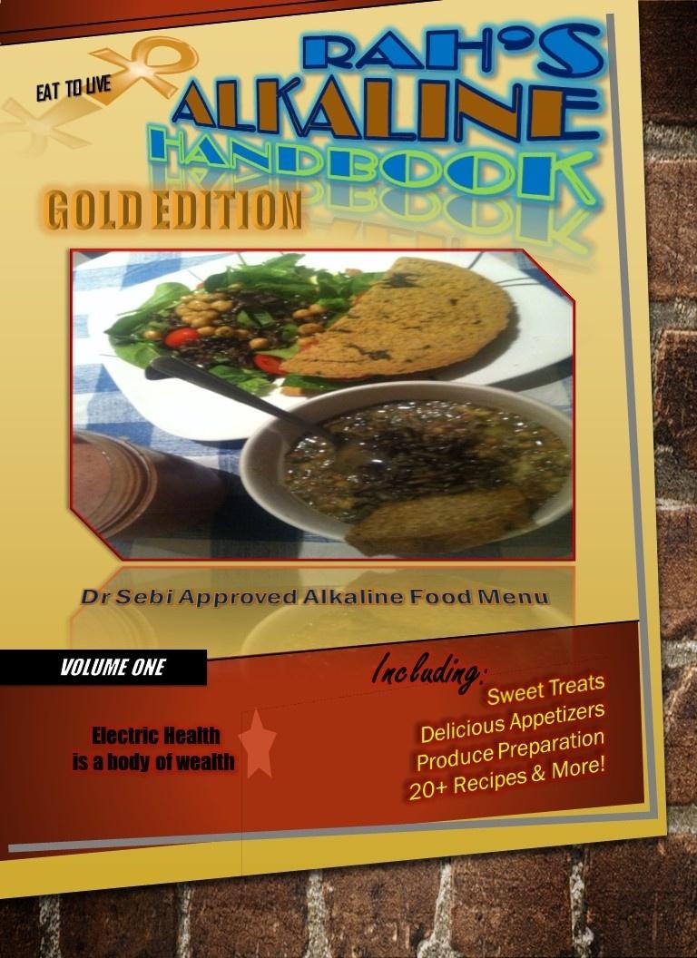 Rahs Alkaline Handbook Ebook Gold Edition