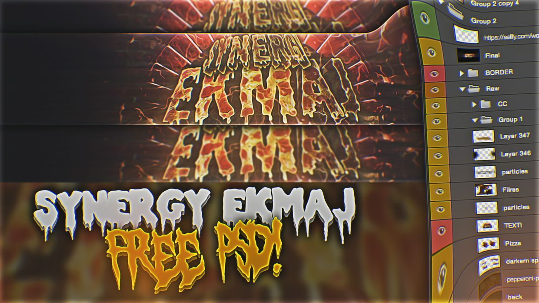 Synergy Ekmaj FREE PSD!