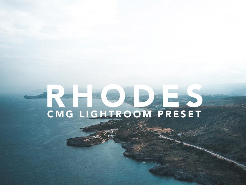 CMG RHODES LIGHTROOM PRESET