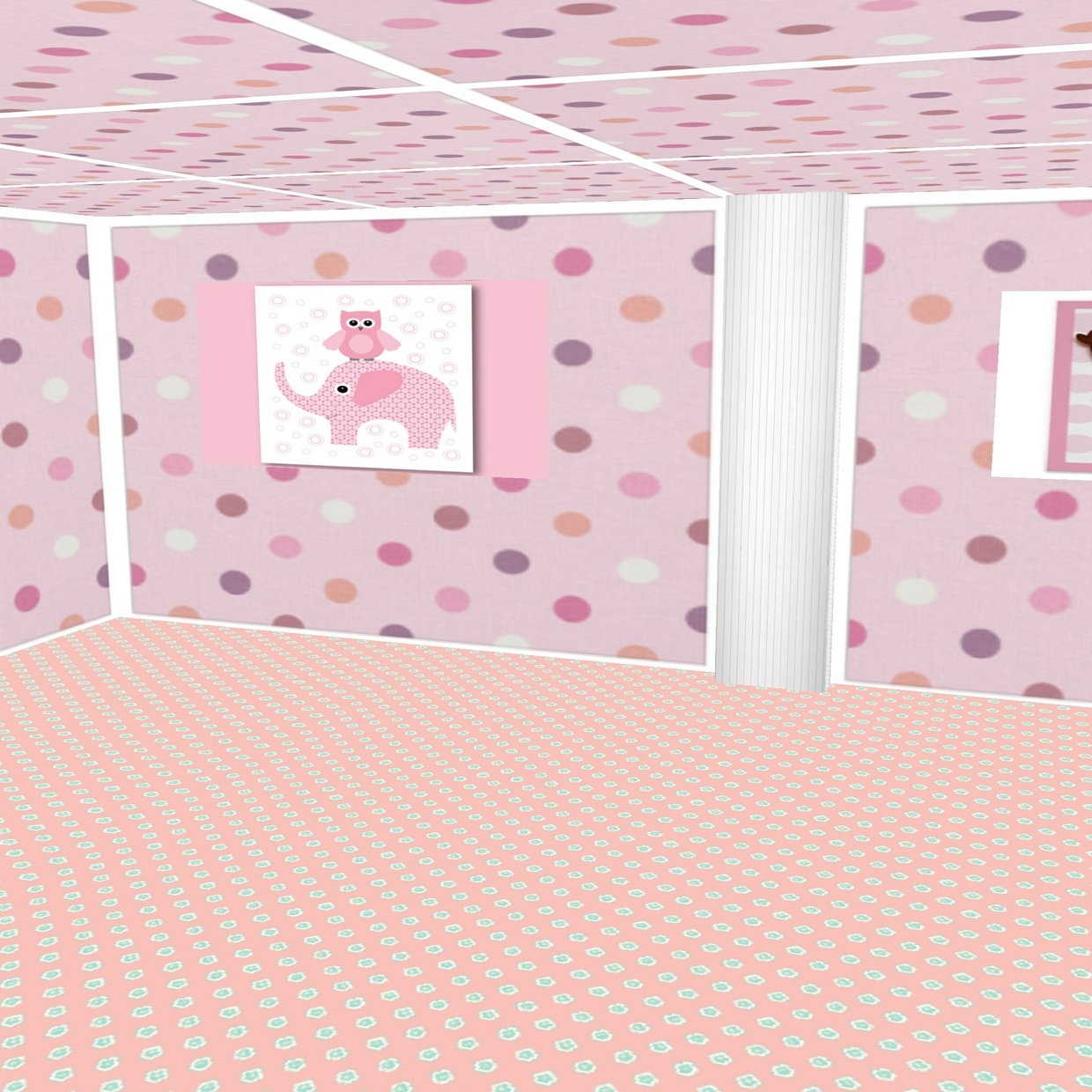 Princess Room Mesh + Free Textures Offer