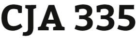 CJA 335 Week 1 Statistical Data Benefits