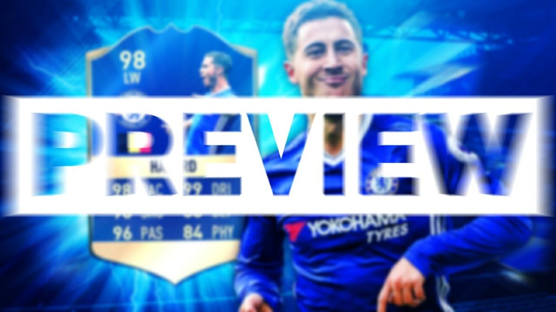 FIFA 17 TOTS HAZARD THUMBNAIL TEMPLATE