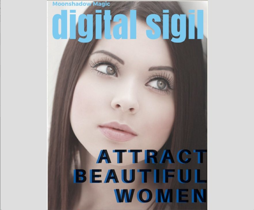 Digital Sigil  Attract Beautiful Woman 2.0