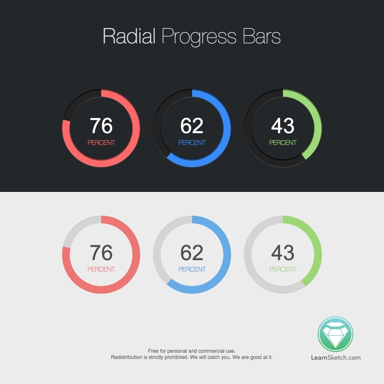 Radial Progress Bars