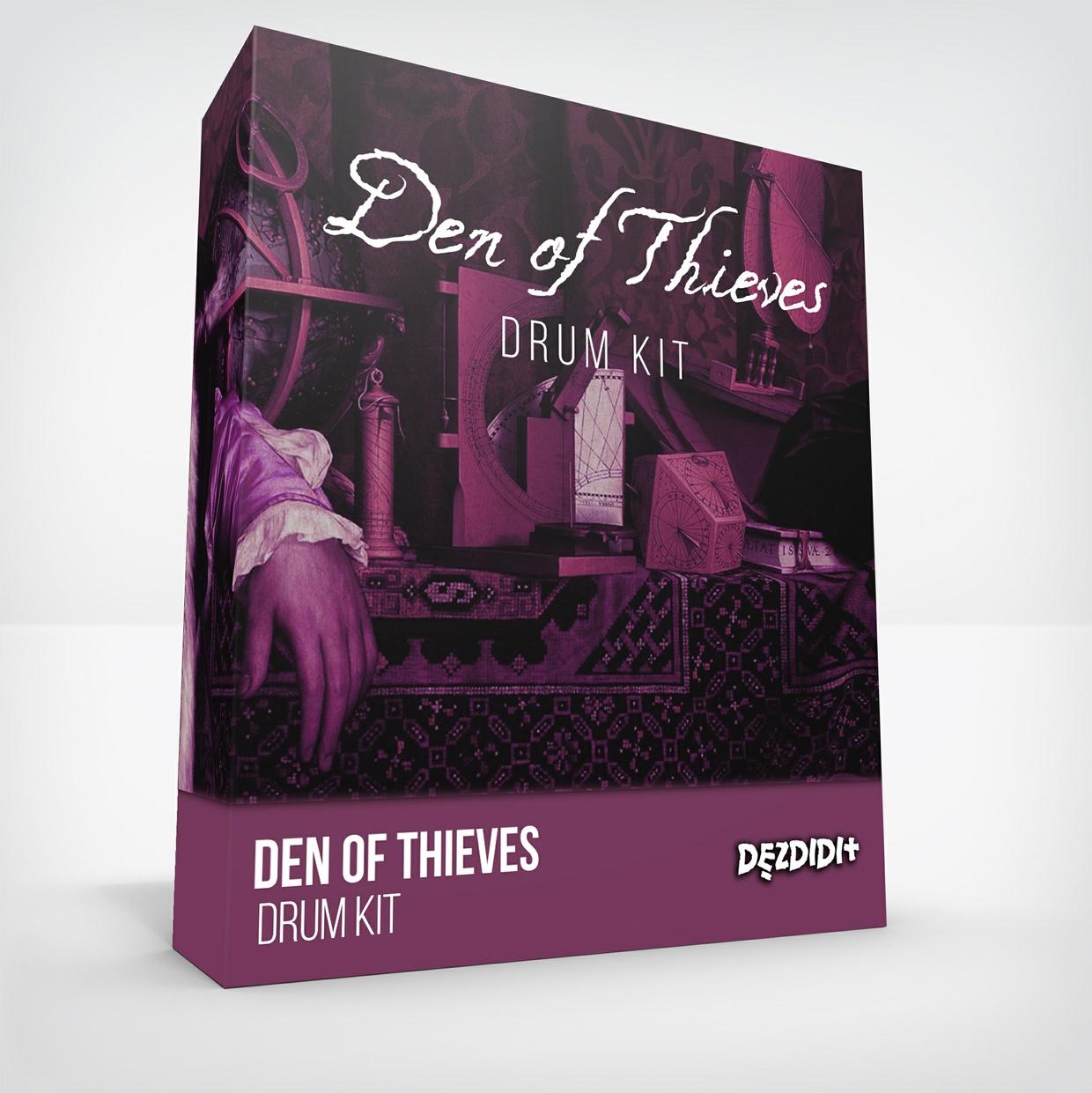 "DezDidIt ""Den of Thieves"" Drum Kit"