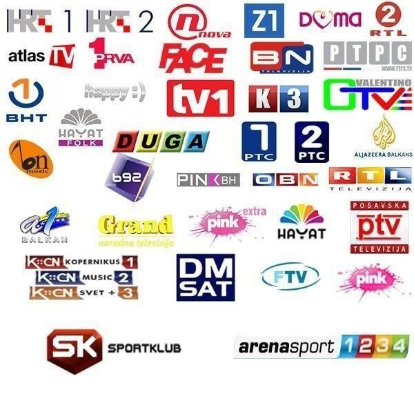 EXYU hayat HRT RTRS channels iptv m3u vlc
