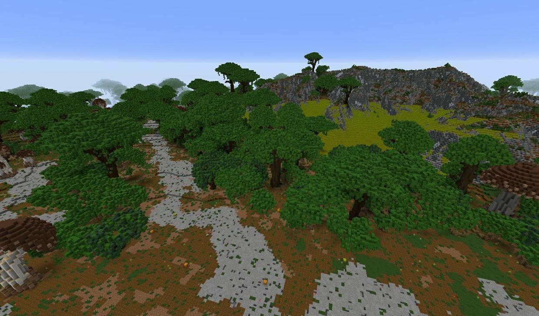 1k x 1k Forest warzone