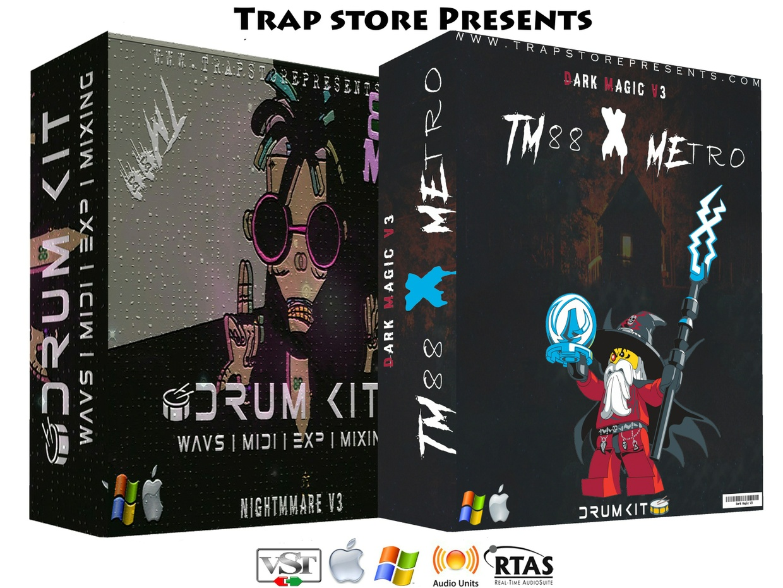 Trap Store Presents - TM88 Nightmare V3 & Dark Magic V3