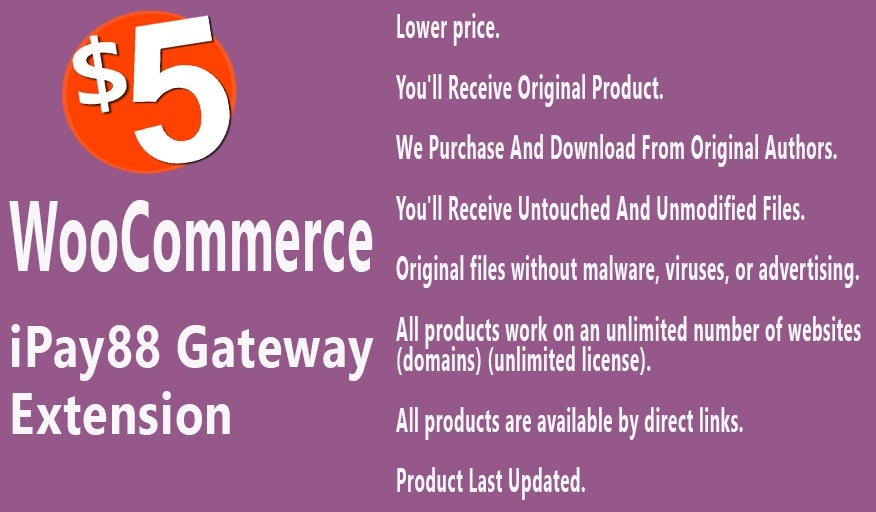 WooCommerce iPay88 Gateway Extension