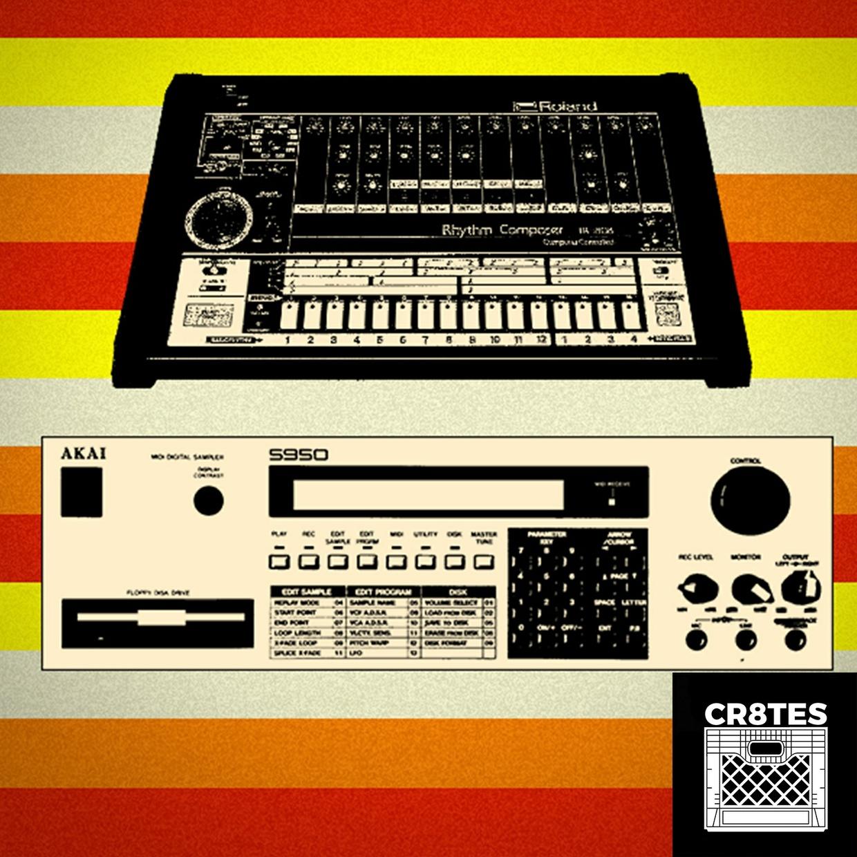 CR8TES - Roland TR-808 Rhythm Composer Samples