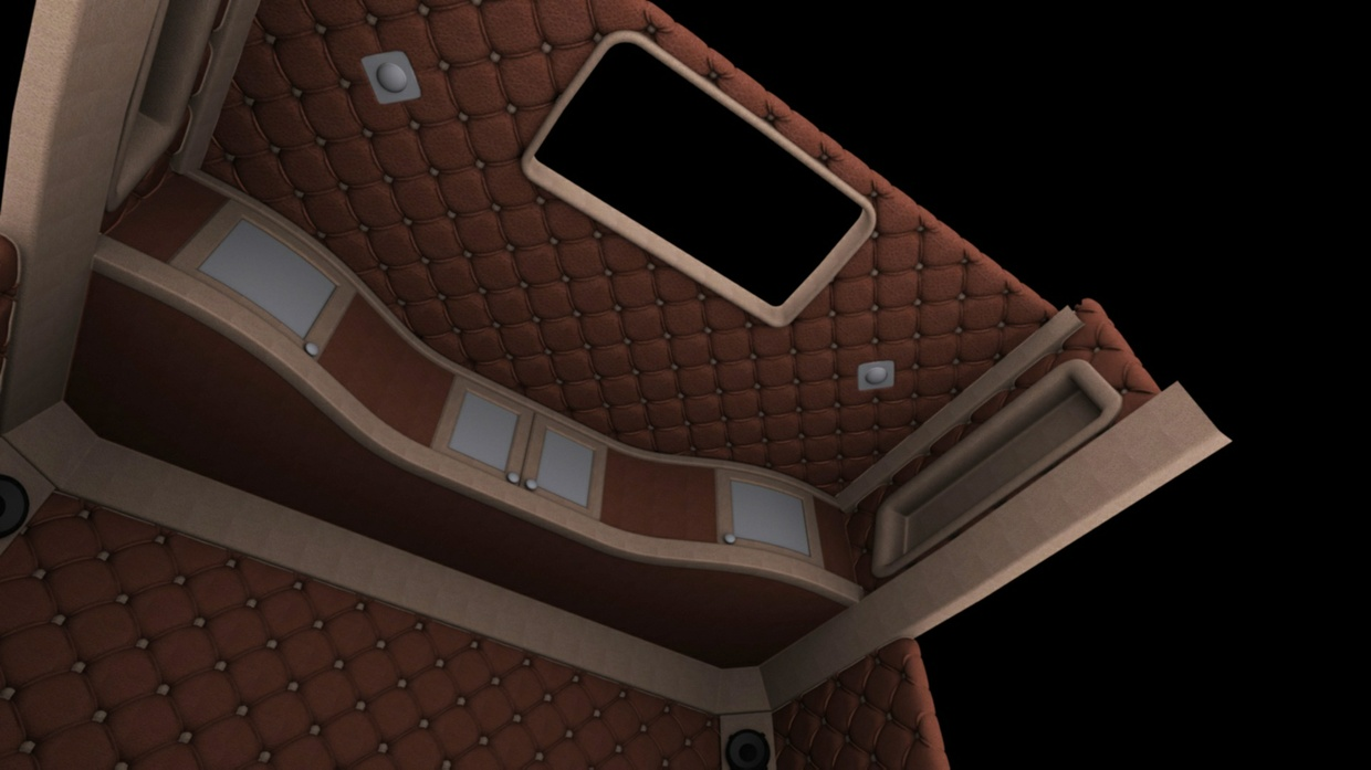 3D Model Scania S Interior ETS 2