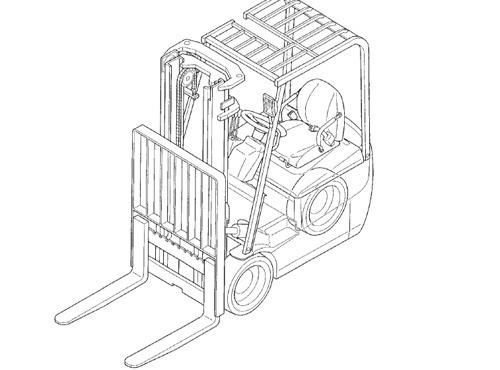 Caterpillar Cat EP10KRT - EP15KRT lift Trucks Service Repair Manual Download