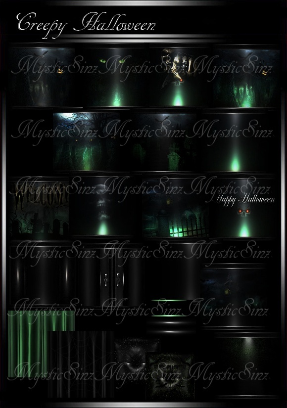 Creepy Halloween Room Textures IMVU