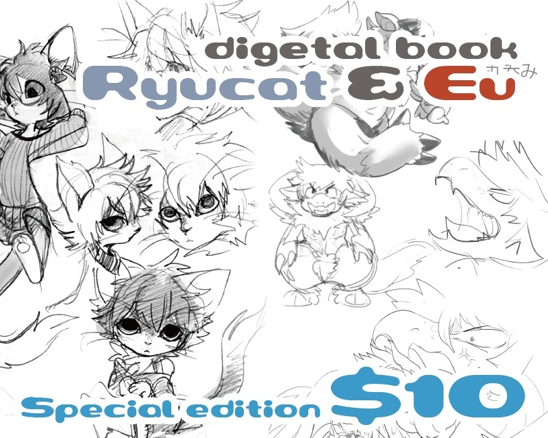 Ryucat & Eu book special edition (include NSFW)
