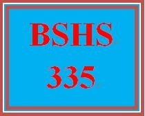 BSHS 335 Week 2 Ethical Case Study