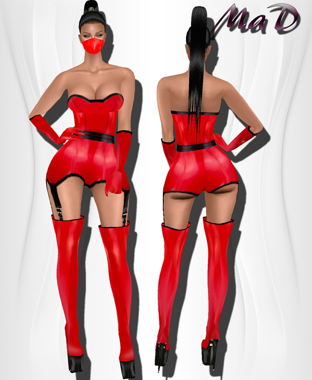 MaD Red Passion Bundle ONLY CATTY