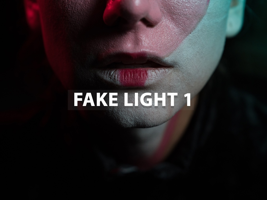 """Fake Light 1"" - Lightroom Preset"