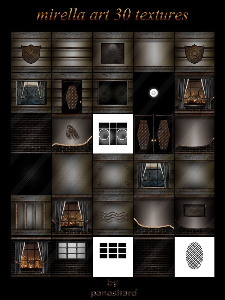 Mirella art 30 textures imvu room