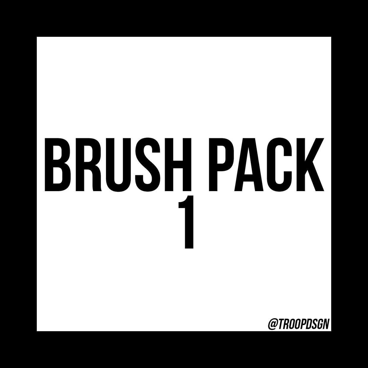 Brush Pack 1