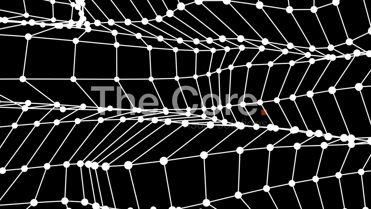 00059 WIRE GRID WAVING-3 HD 30fps by The Core