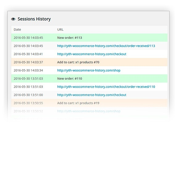 YITH WooCommerce Customer History 1.1.1 Extension