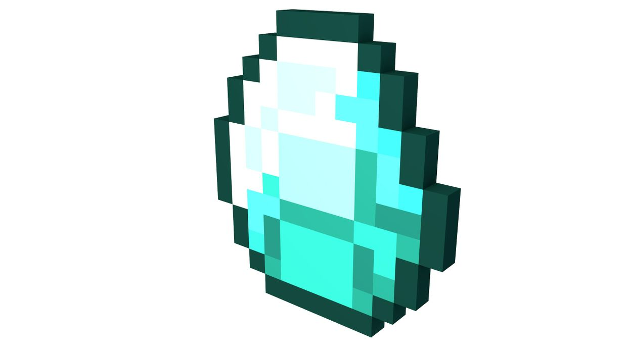 how to build a diamond in minecraft