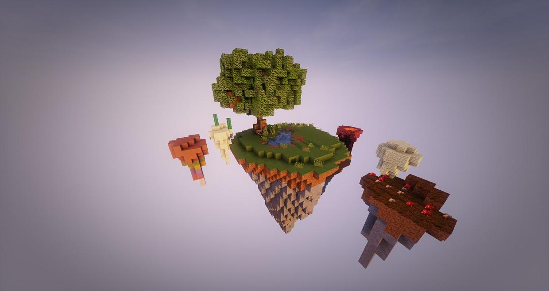 Biomes Skyblock Island
