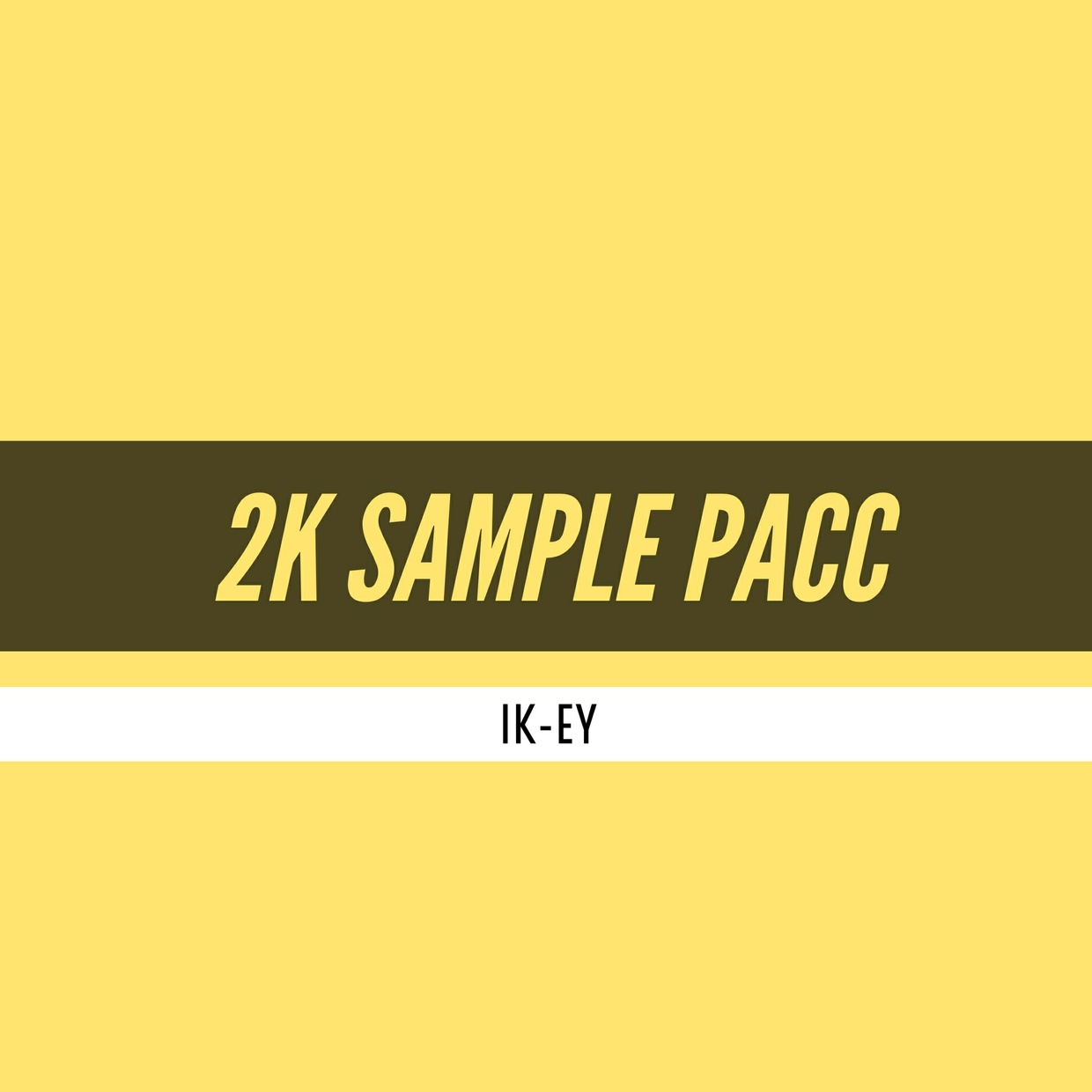 IK-EY 2K SAMPLE PACC