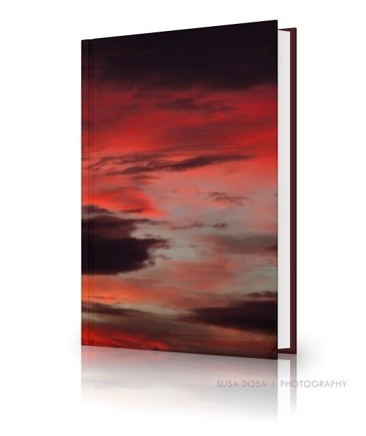 - Dramatic evening sky -