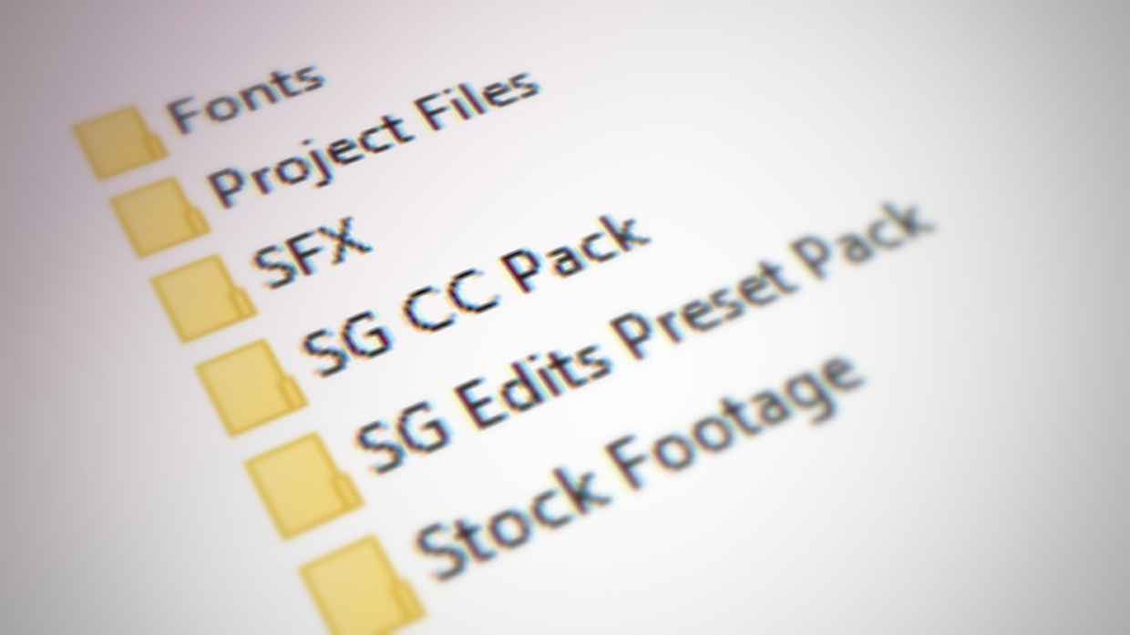 SG Complete 2017 Editing Pack