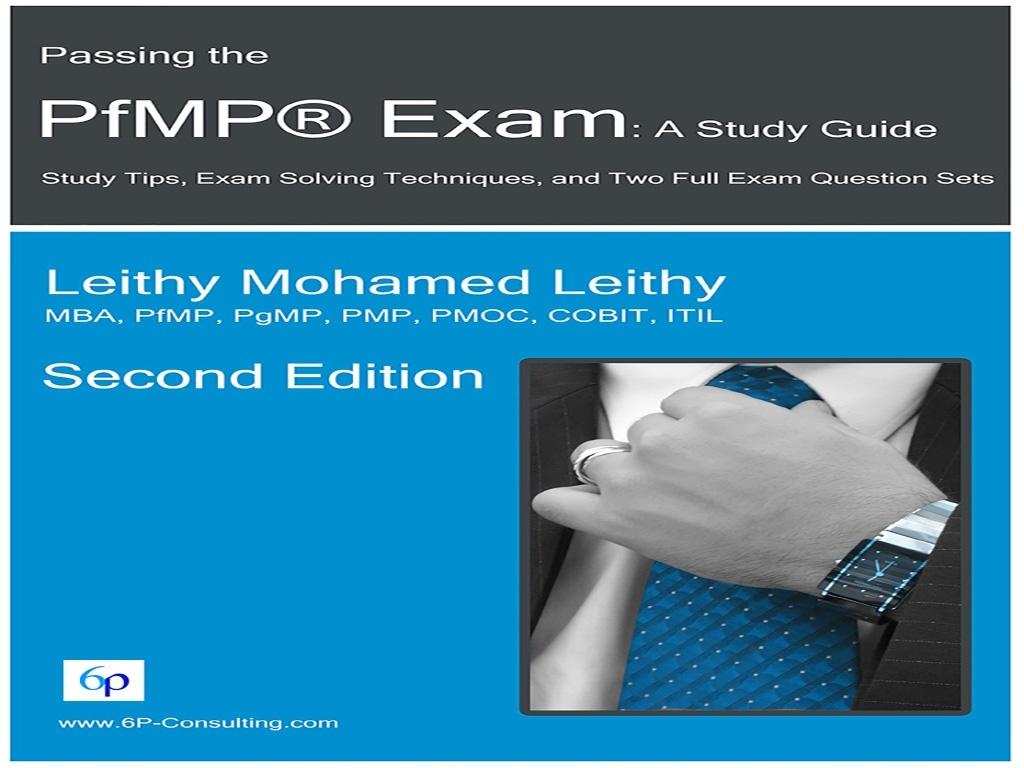 Passing the  PfMP® Exam: A Study Guide (PDF Version)