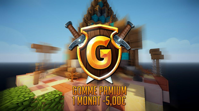 Gomme Premium- 1 Monat