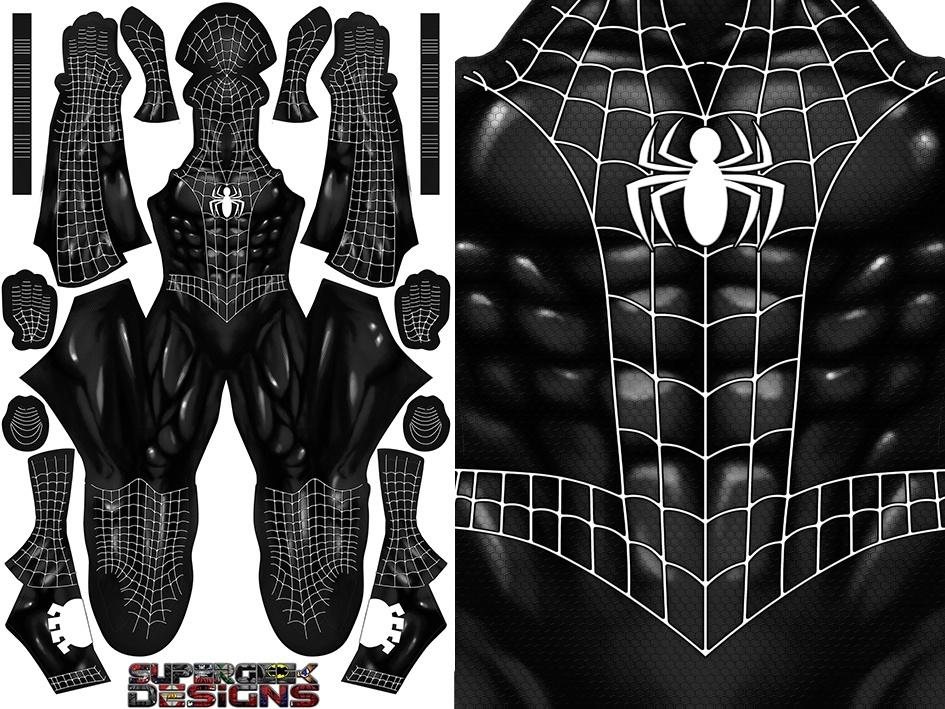 COMIC SPIDER-MAN SYMBIOTE pattern file
