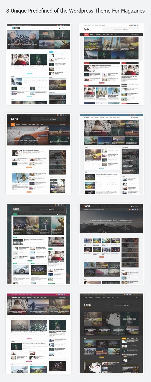Soria - Plantilla Revista Responsive blog de WordPress