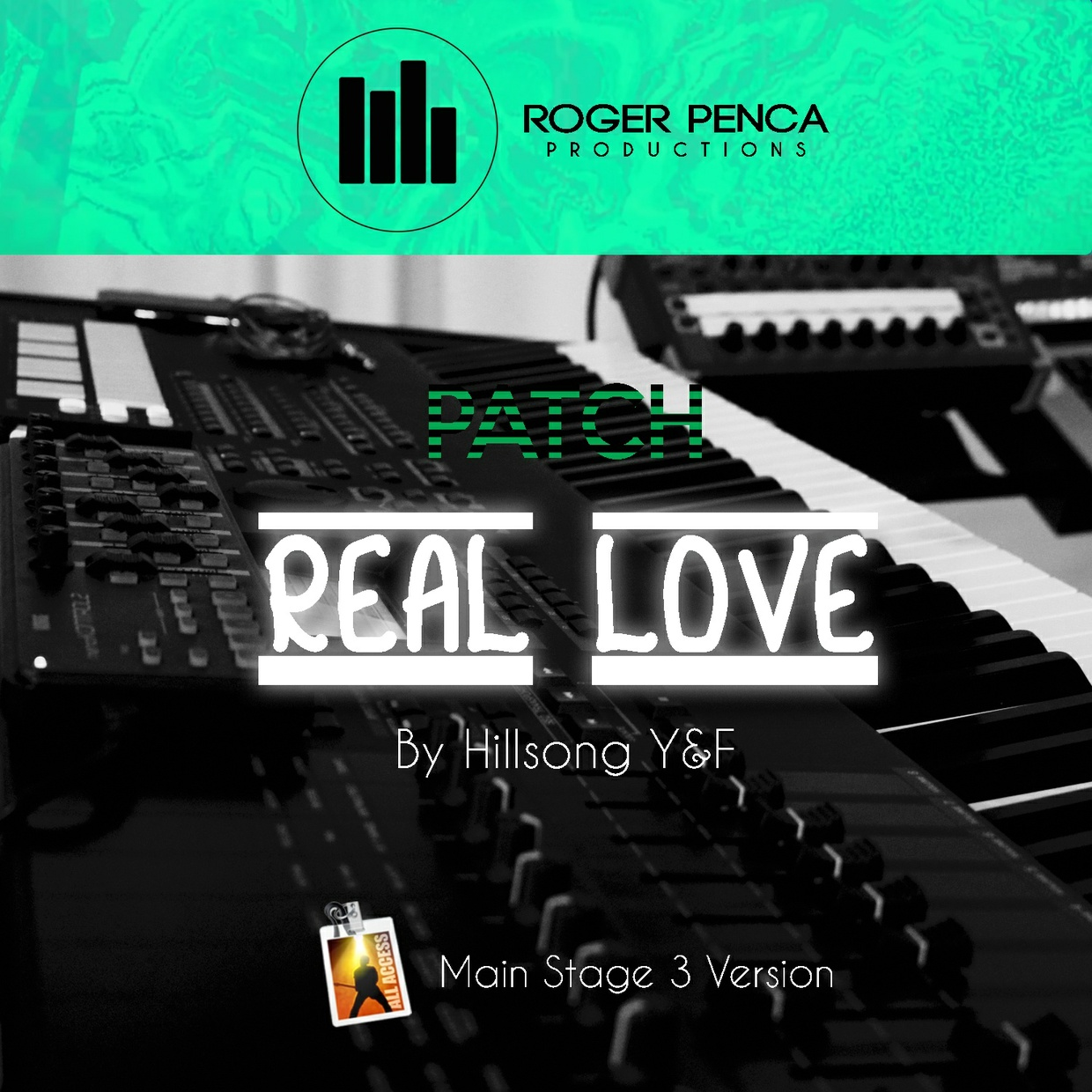 PATCH REAL LOVE   YOUTH REVIVAL Hillsong Y&F ( Main Stage 3 Version )